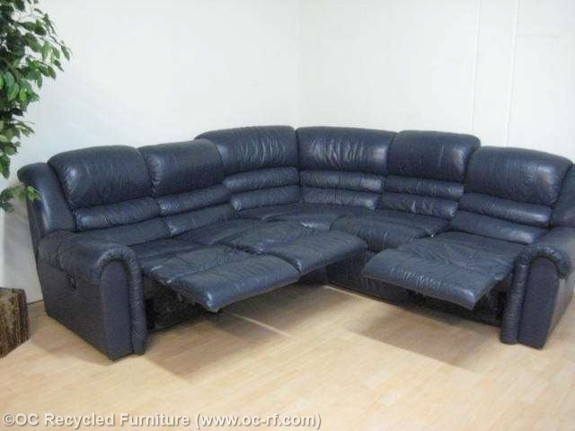 Incredible Navy Blue Reclining Sofa Navy Blue Recliner Sectional Sofa Used Furniture Recycled Couches