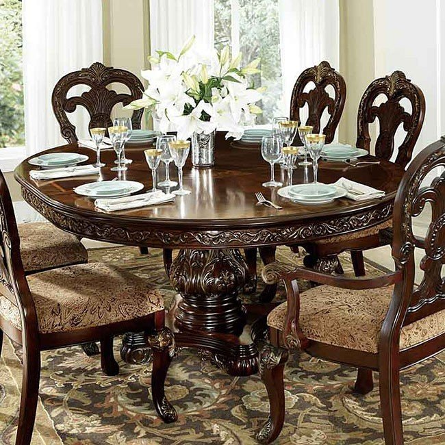 Incredible Oval Dining Room Table Deryn Park Oval Dining Room Set Formal Dining Sets Dining Room