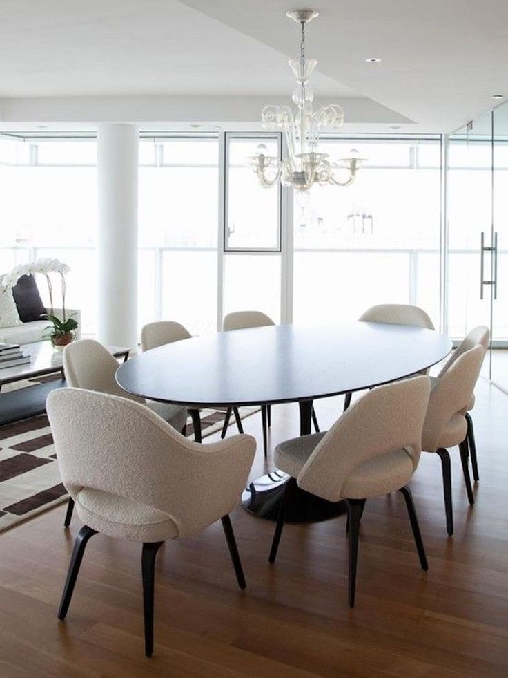 Incredible Oval Modern Dining Table Best 25 Oval Dining Tables Ideas On Pinterest Oval Kitchen