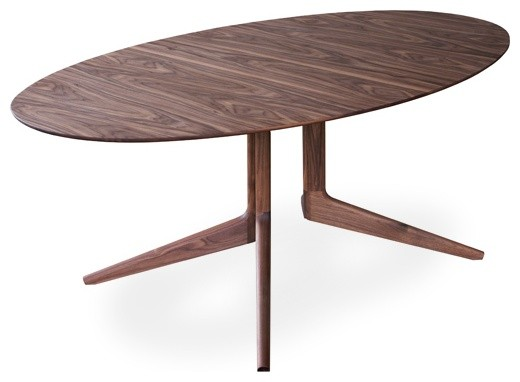 Incredible Oval Modern Dining Table Pleasurable Modern Oval Dining Table All Dining Room
