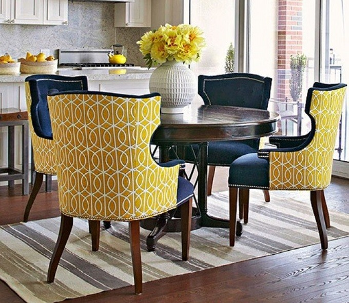 Incredible Printed Upholstered Dining Chairs Chairs Amusing Printed Dining Chairs Printed Dining Chairs
