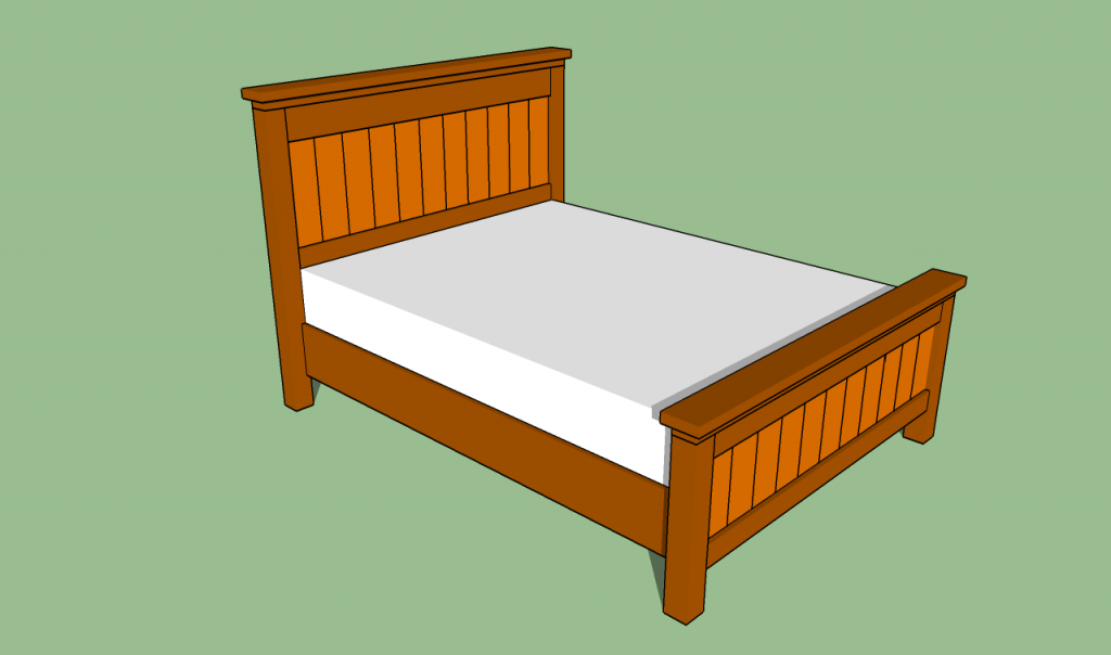 Incredible Queen Size Bed Frame How To Build A Queen Size Bed Frame Howtospecialist How To