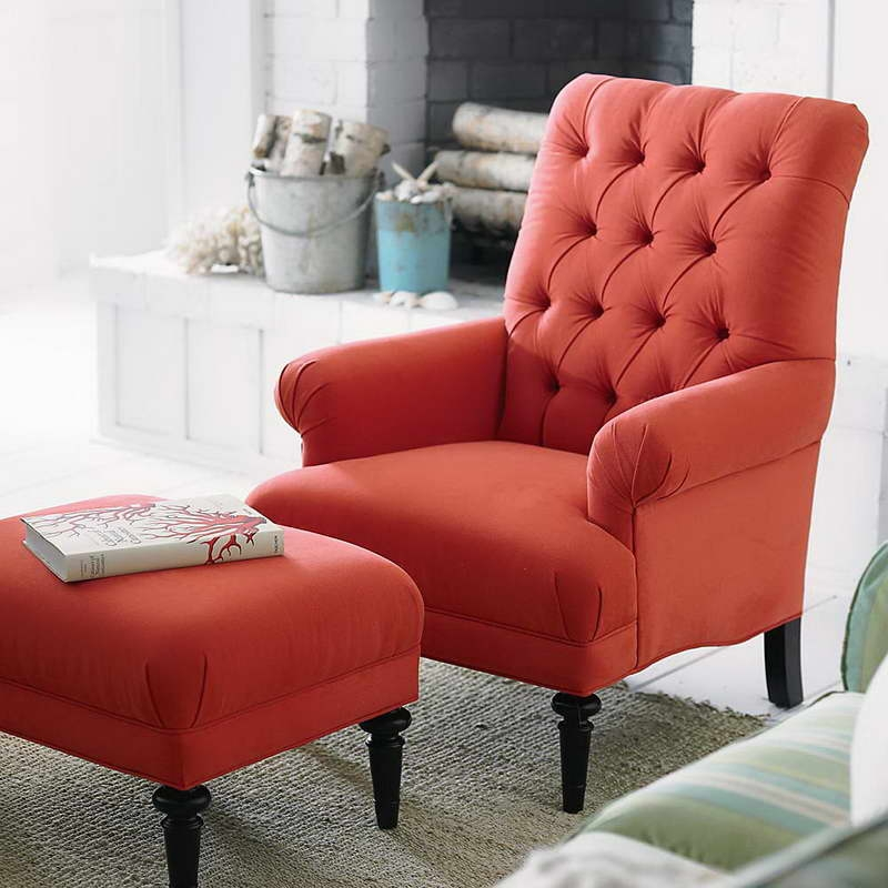 Incredible Red Accent Chairs With Arms Living Room Red Accent Chairs For Comfortable Recliners Enchanting