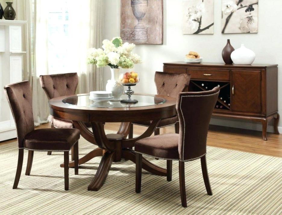 Incredible Round Dining Table For 6 With Leaf Round Dining Table For 6 Mitventuresco