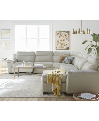 Incredible Sectional Sofa With 2 Chaises Julius 6 Pc Leather Sectional Sofa With Chaise And 2 Power