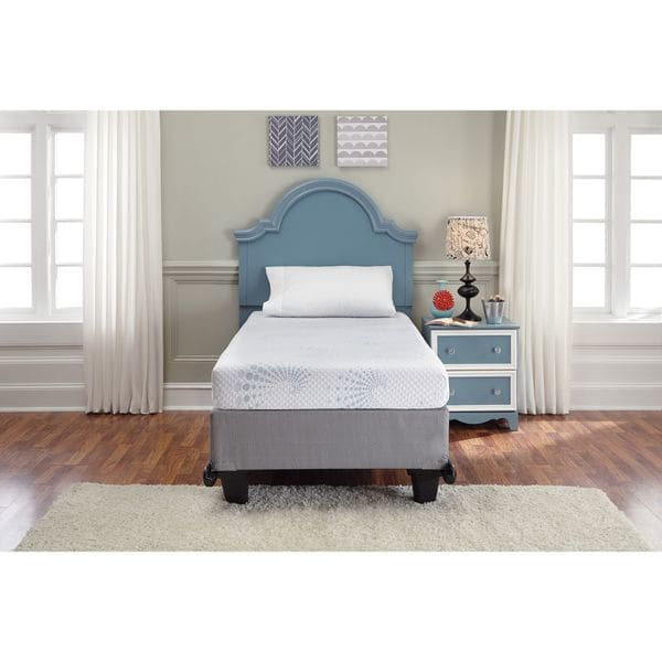 Incredible Sierra Sleep Memory Foam Mattress Sierra Sleep Ashley White 6 Inch Twin Size Memory Foam Mattress