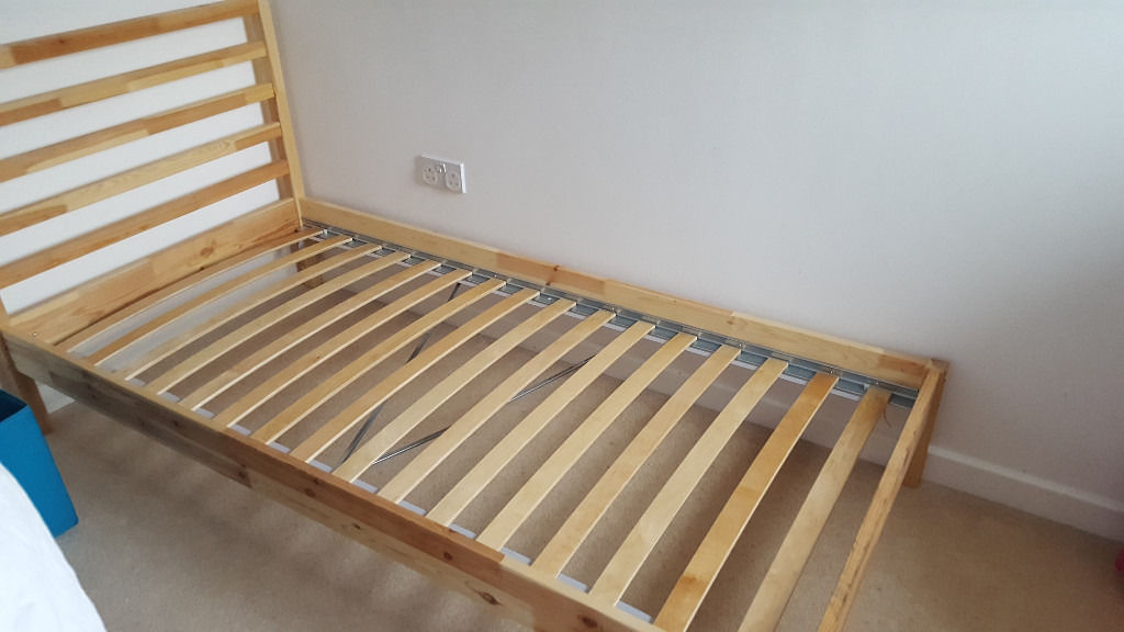Incredible Single Wooden Bed Frames Ikea Single Bed Frame Ikea Tarva With Slatted Bed Frame Lury And
