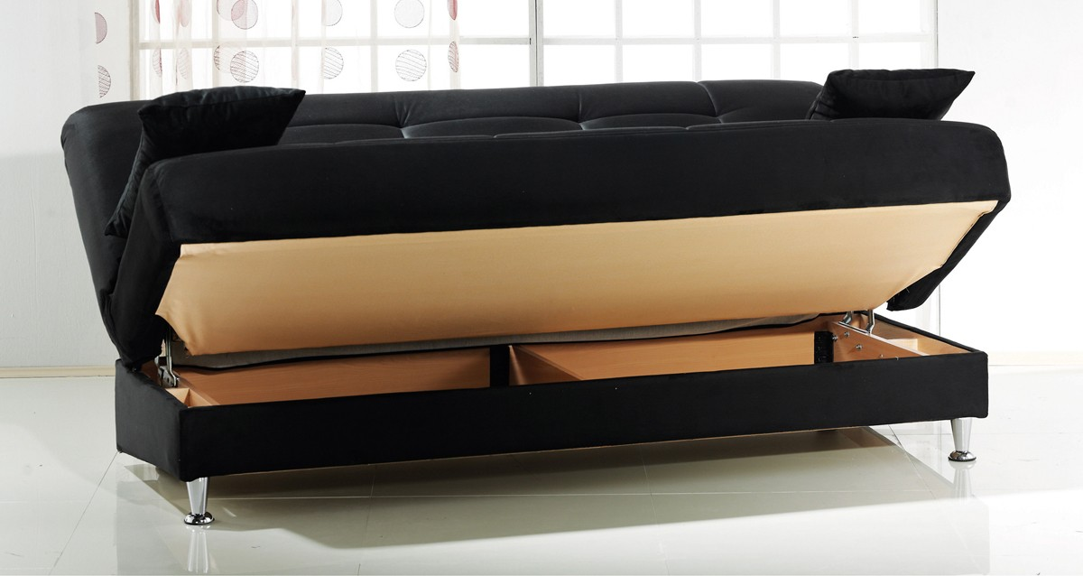 Incredible Sleeper Sofa With Storage Stunning Sofa Sleeper With Storage Vegas Sofa Bed With Storage
