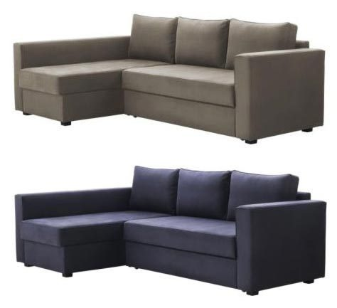Incredible Small Couch Bed Ikea Glamorous Small Sectional Couch Ikea 46 With Additional Decoration