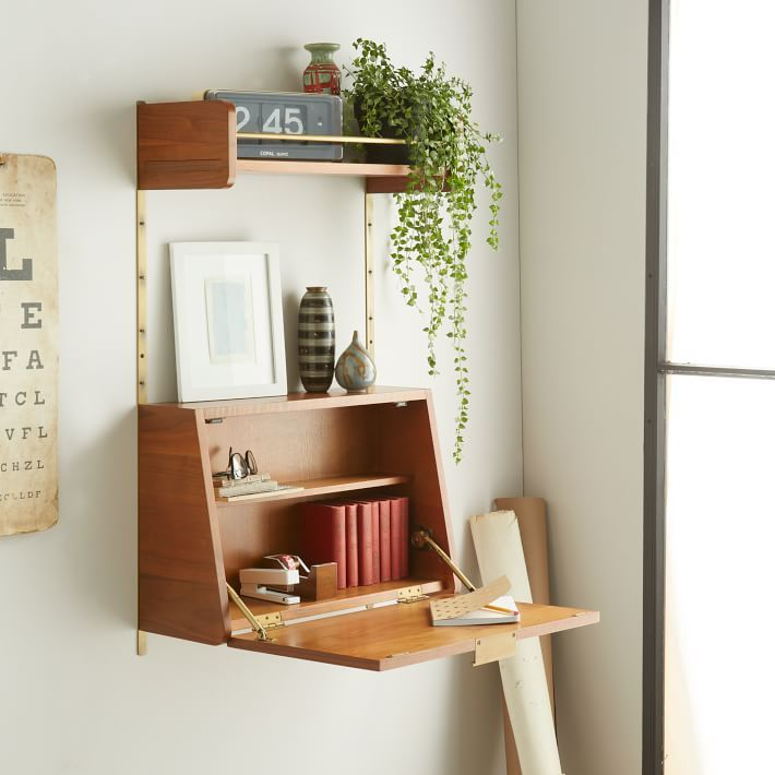Incredible Small Desk With Storage Best 25 Space Saving Desk Ideas On Pinterest Space Saving Table