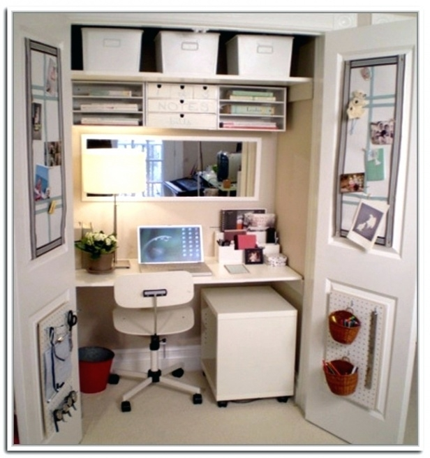 Incredible Small Desk With Storage Desk Home Office Under Storage Regarding Popular Residence Small