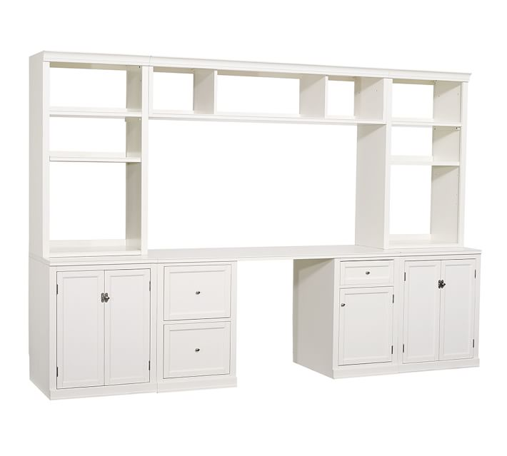 Incredible Small Office Cabinet Logan Small Office Suite With File Cabinets Bridge Pottery Barn