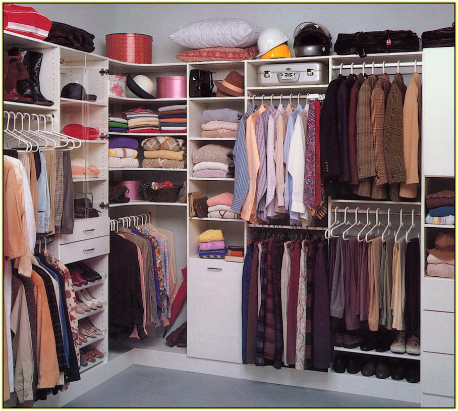 Incredible Small Walk In Closet Organization Ideas Small Walk In Closet Organization Ideas Home Design Ideas