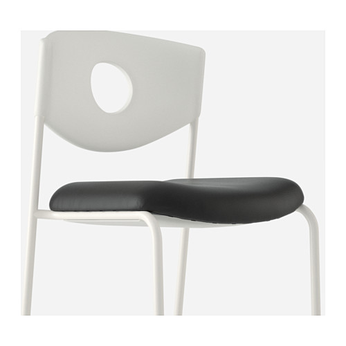 Incredible Stackable Chairs Ikea Stoljan Conference Chair Whiteblack Ikea