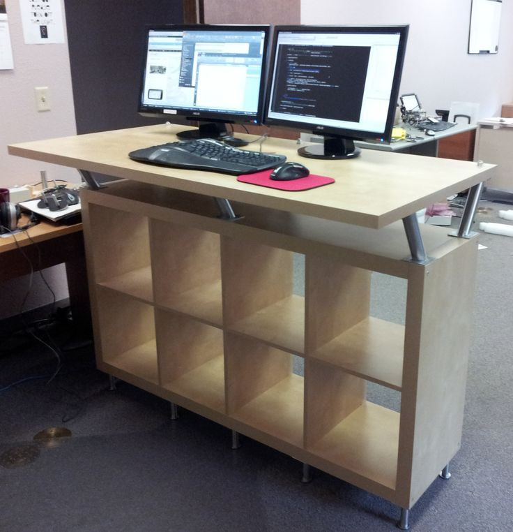 Incredible Stand Up Computer Desk Ikea Best 25 Standing Desks Ideas On Pinterest Standing Desk Height