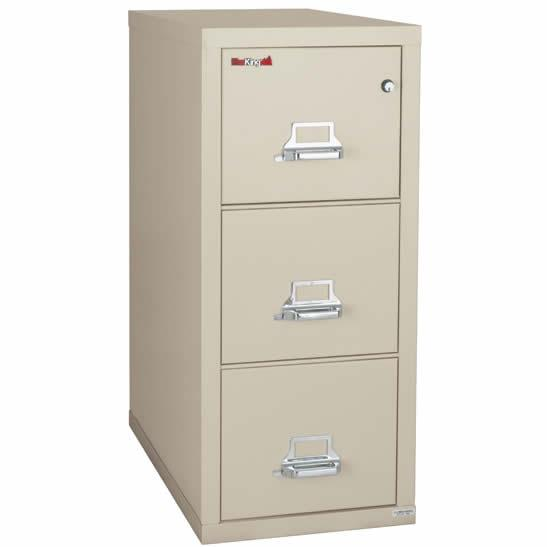 Incredible Three Drawer File Cabinet Fireking 3 1943 2 Three Drawer Letter Size 2 Hour Fireproof File
