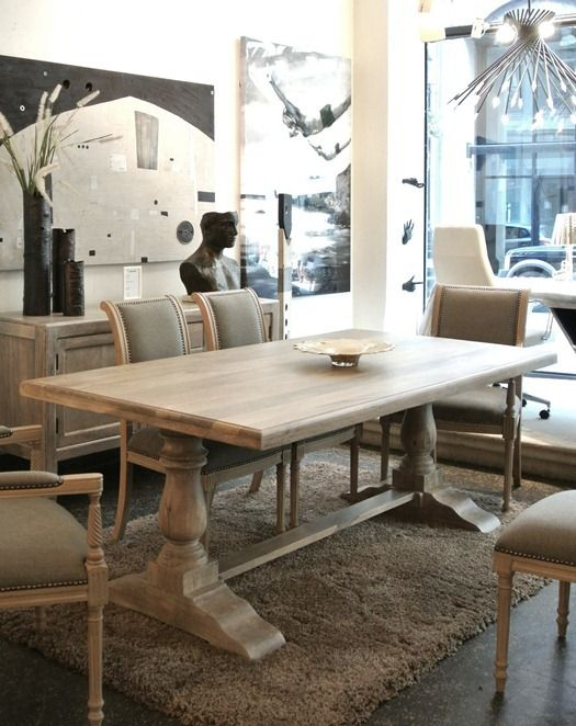 Incredible Trestle Dining Table Best 25 Trestle Dining Tables Ideas On Pinterest Restoration
