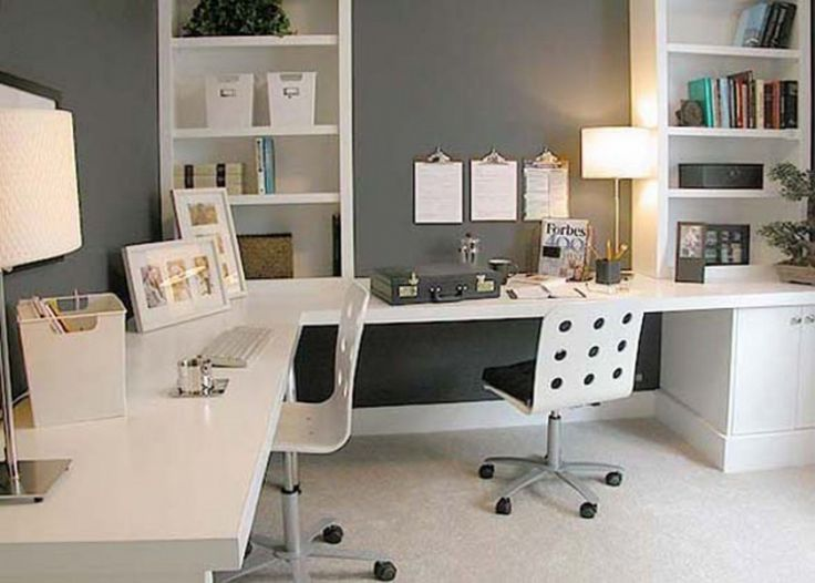 Incredible Two Desk Office Ideas 26 Best Home Office For Two Images On Pinterest Office Desks