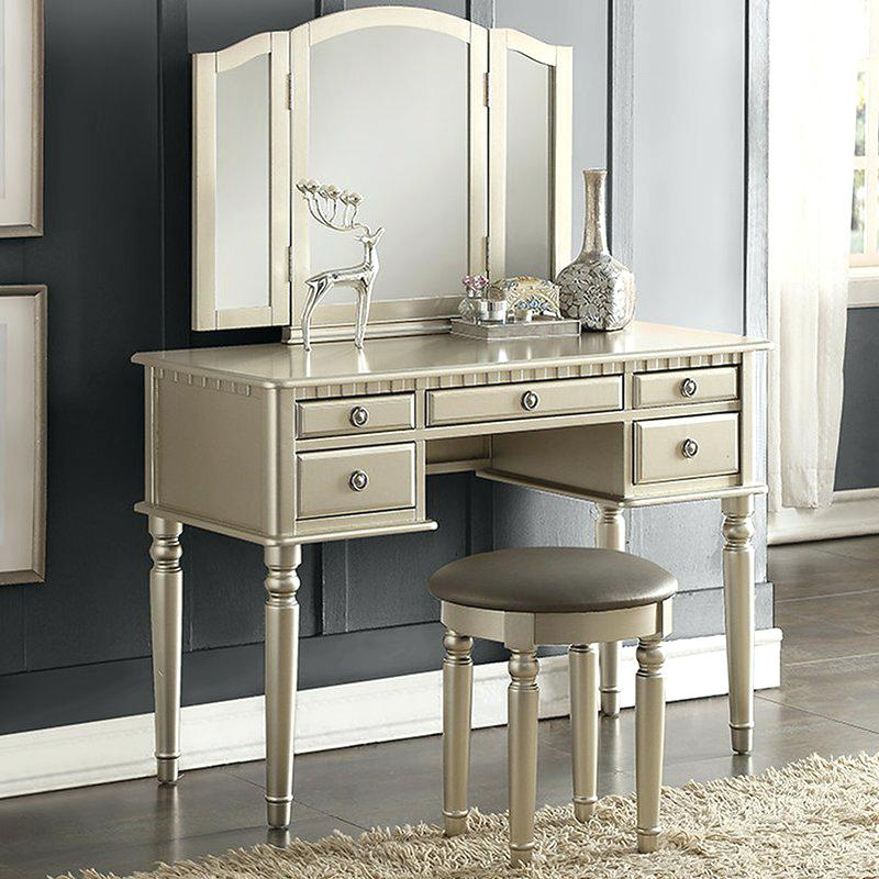 Incredible Vanity Sets With Mirror And Bench Vanities Dressing Table With Mirror And Drawers Vanity Table