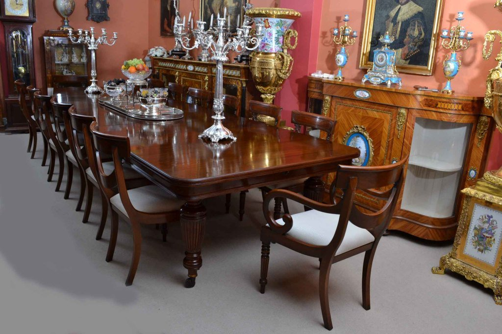 Incredible Victorian Dining Chairs Antique Victorian Dining Table And 14 Chairs C1880 At 1stdibs
