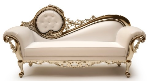 Incredible White And Gold Chaise Lounge Victorian Chaise Lounge Facil Furniture