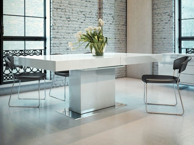 Incredible White Dining Table Modern Modern White Dining Tables