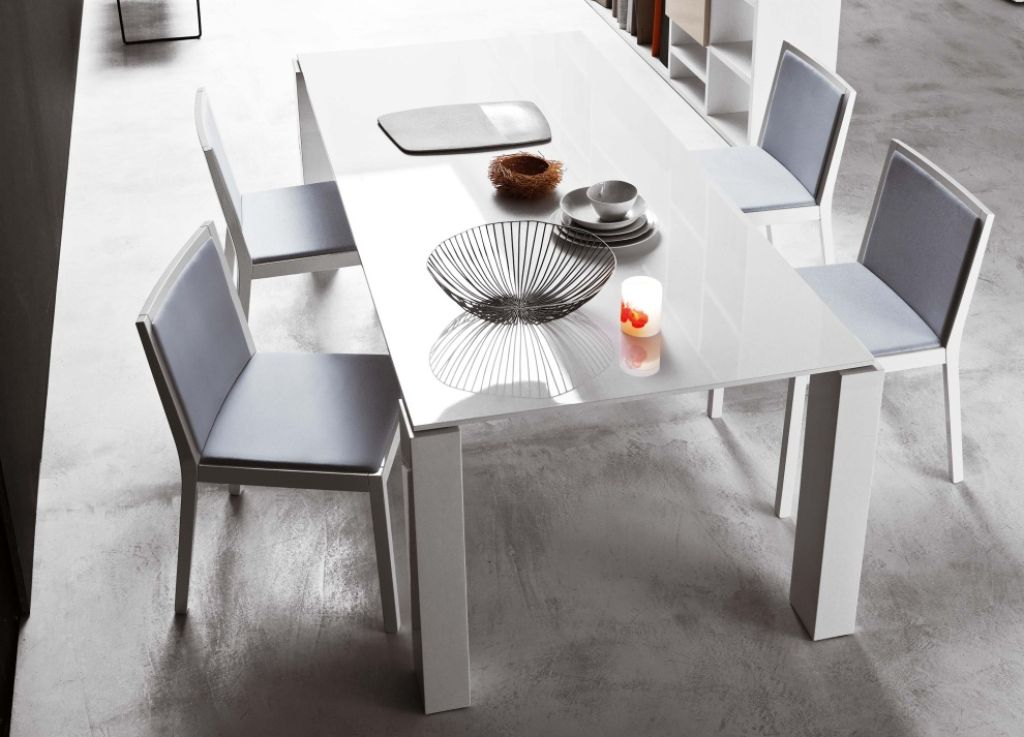 Incredible White Dining Table Modern White Dining Table Modern Brucall