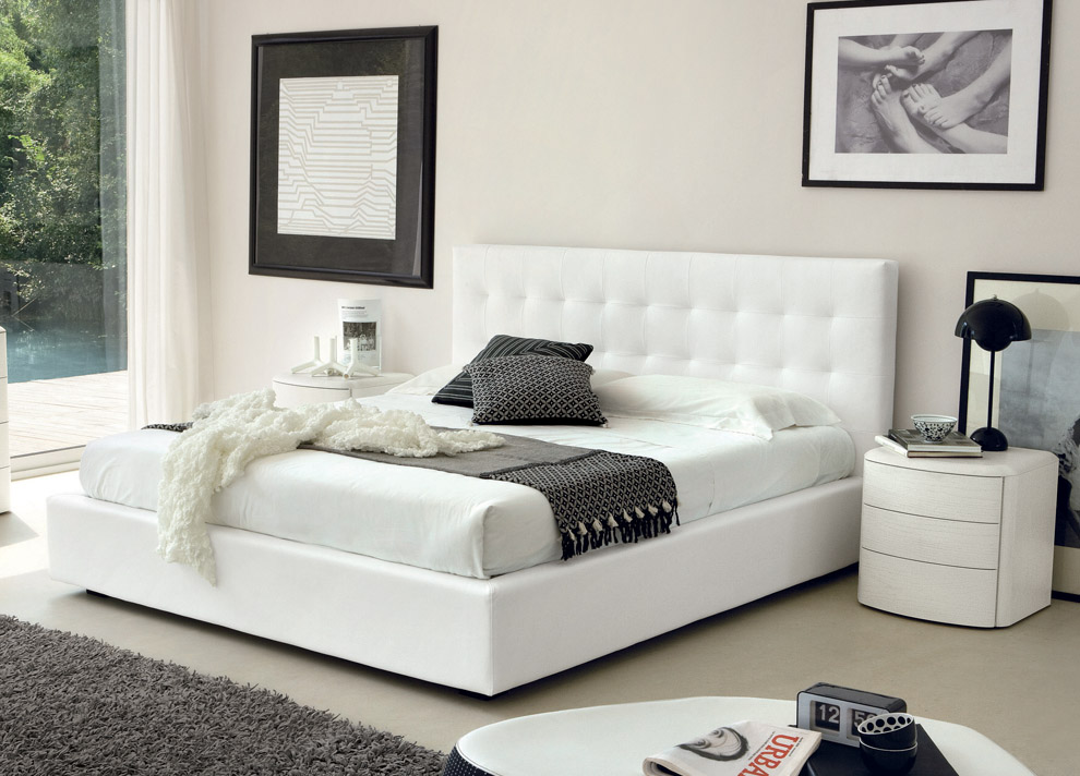 Incredible White King Size Bed Contemporary King Size Bed White Contemporary King Size Bed