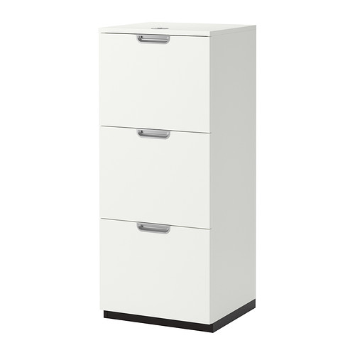 Incredible White Locking File Cabinet Galant File Cabinet White Ikea
