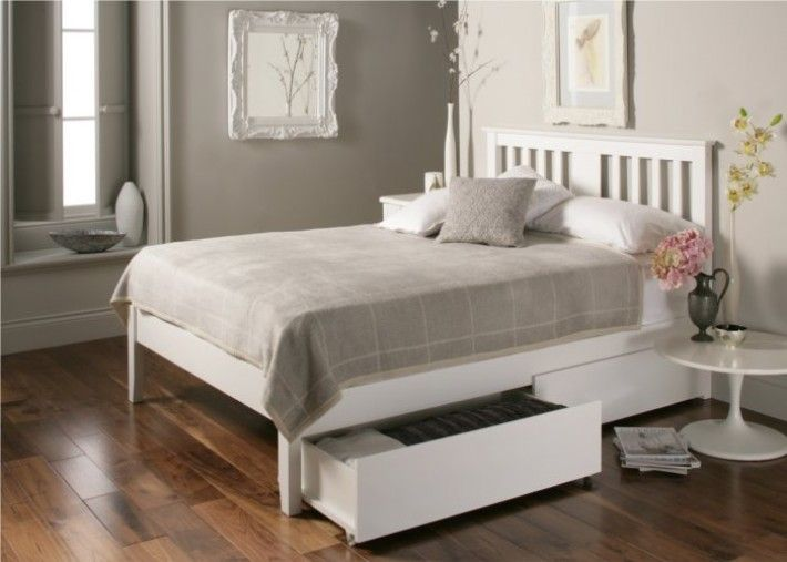 Incredible White Wooden Bed Frame Best 25 White Wooden Bed Ideas On Pinterest White Bed Covers