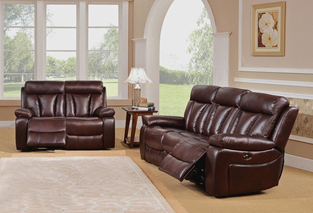 Innovative 2 Piece Leather Living Room Set Red Barrel Studio Lenny 2 Piece Leather Living Room Set Wayfair