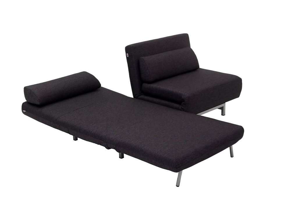 Innovative 2 Seater Sofa Bed Convertible Lk06 2 2 Seater Sofa Bed In Charcoal Fabric Jm
