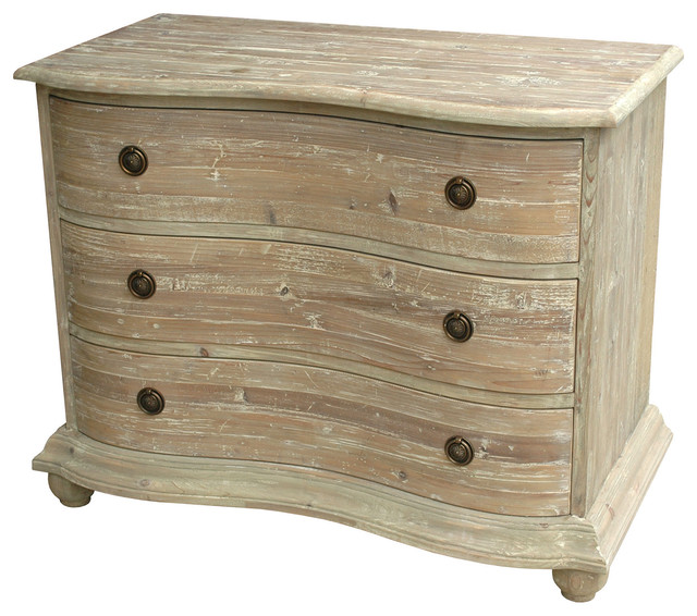 Innovative 23 Inch Wide Dresser Rodin French Country Curved Reclaimed Pine White Wash Dresser 30