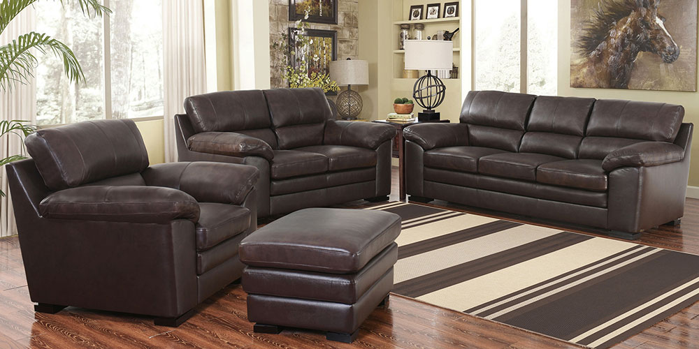 Innovative 4 Piece Leather Living Room Set Sophie Costco