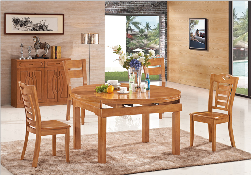 Innovative 4 Wooden Dining Chairs All Solid Wood Dining Table Deals Restaurant Dining Chairs