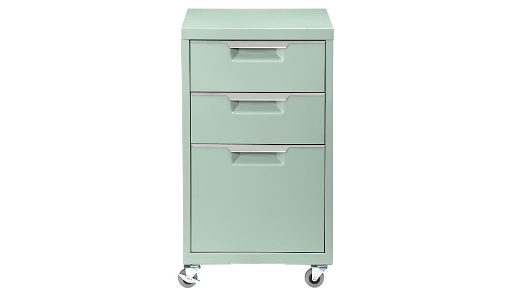 Innovative Affordable File Cabinets Tps Mint 3 Drawer File Cabinet Cb2