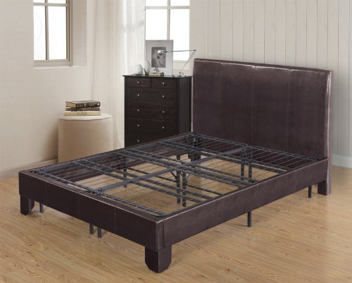 Innovative Base Bed Frame Queen Kings Brand Metal Bi Fold Platform Bed Frame Base Mattress
