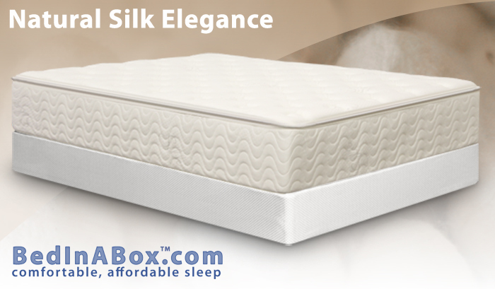Innovative Bed In Box Mattress Bed In A Box Natural Silk Elegance Review Mattress Mary