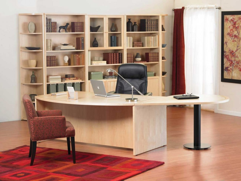 Innovative Big Home Office Desks Gorgeous Office Wooden Furniture Home Office Furniture Wood Home