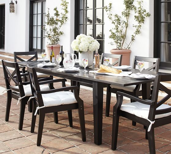 Innovative Black Dining Table And Chairs Set Hampstead Painted Extending Table Chair Dining Set Black