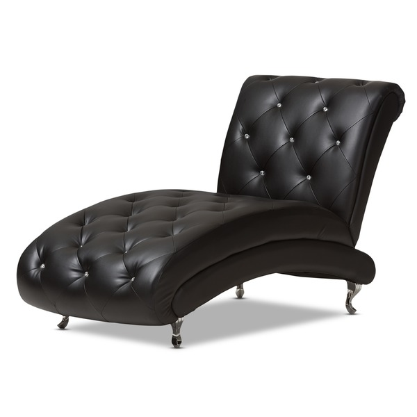 Innovative Black Leather Chaise Lounge Lounge Leather Chaise Chairs Bankruptcyattorneycorona For Awesome