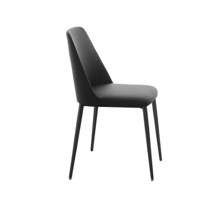 Innovative Black Leather Dining Chairs With Arms Dolce Dining Armchair Chair Modern Italian Furniture