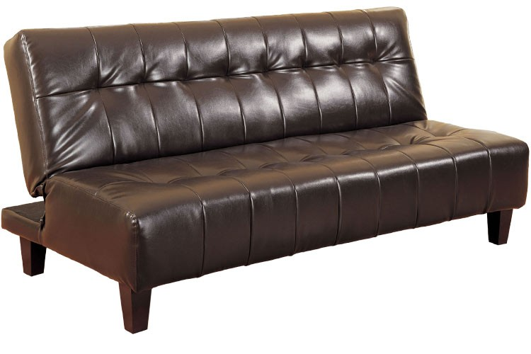 Innovative Brown Futon Sofa Bed Rockaway Modern Convertible Futon Couch Sleeper Java The Futon Shop