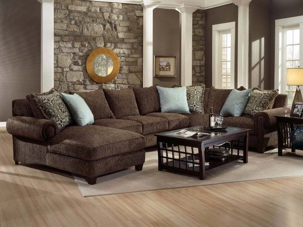 Innovative Brown Living Room Furniture Best 25 Dark Brown Couch Ideas On Pinterest Leather Couch
