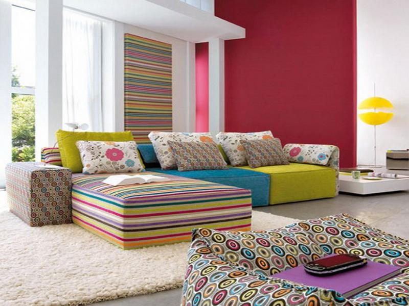 Innovative Colorful Living Room Furniture Colorful Living Room Home Design Ideas