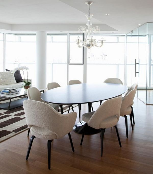 Innovative Contemporary Round Dining Table For 8 Brilliant And Lovely Contemporary Dining Table Sets Regarding Your