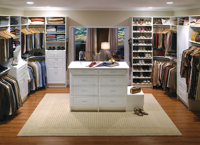 Innovative Custom Walk In Closets Custom Walk In Closet Organizers White