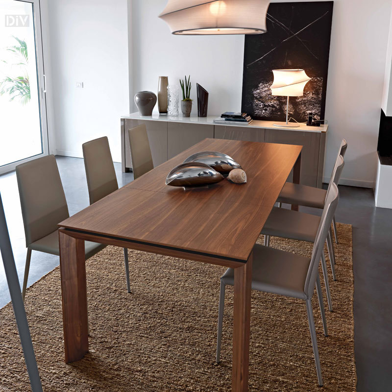 Innovative Dining Table Extendable Modern Omnia Wood 180 Extendable Dining Table Dining Tables Dining