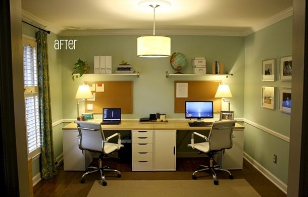 Innovative Double Desk Ikea Pick Of The Week Double Workspace Double Desk Ikea Alex And Desks