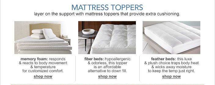 Innovative Down Pillow Toppers For Mattresses Mattress Toppers And Pads Macys